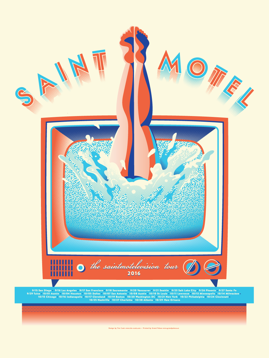 SaintMotelivisionPoster