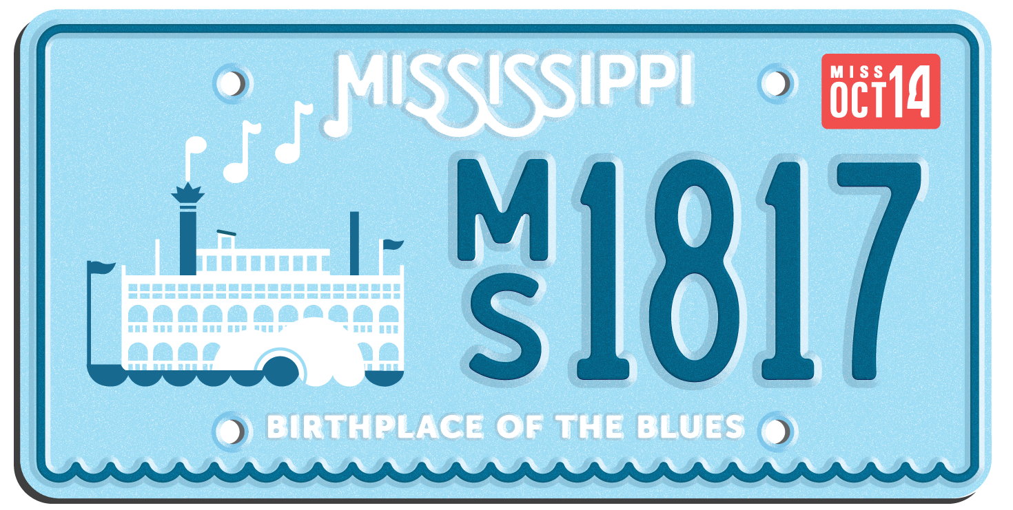 State Plates Project Illustration